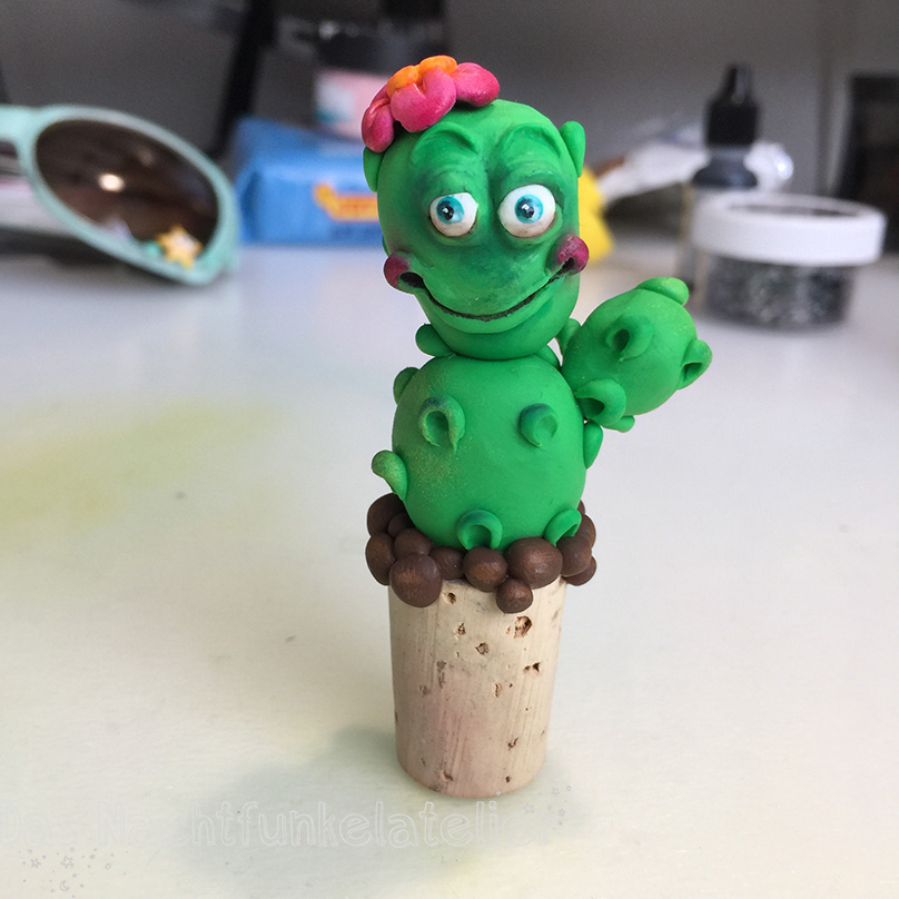 Fimo Kaktus Kopie