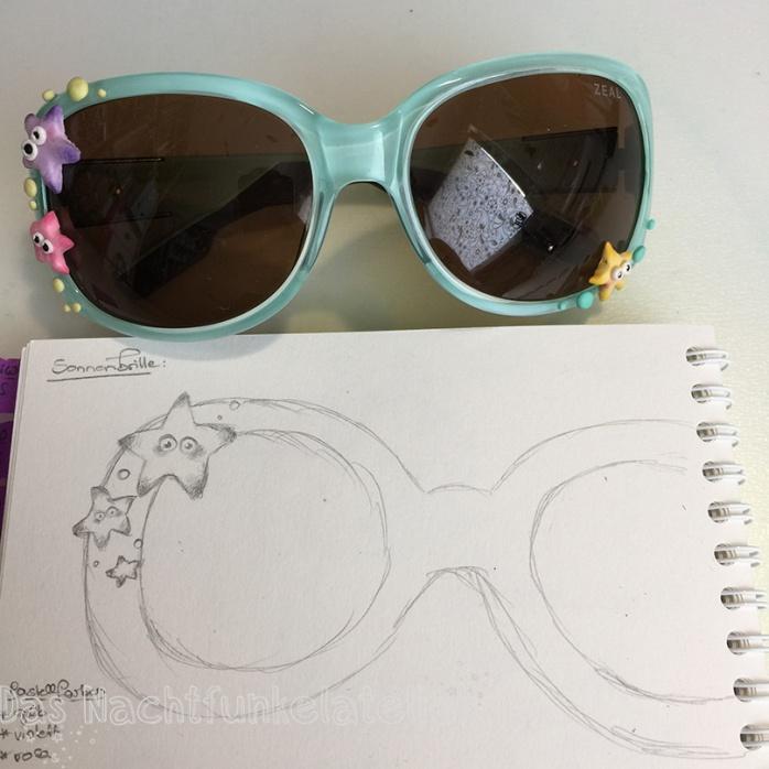 Fimo Sonnenbrille Skizze Kopie
